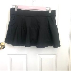 Victoria Secret SPORT black skort SP